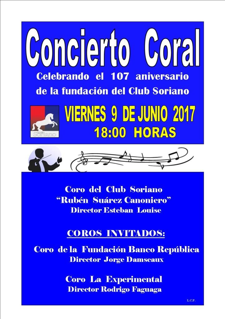 Concierto coral 2017