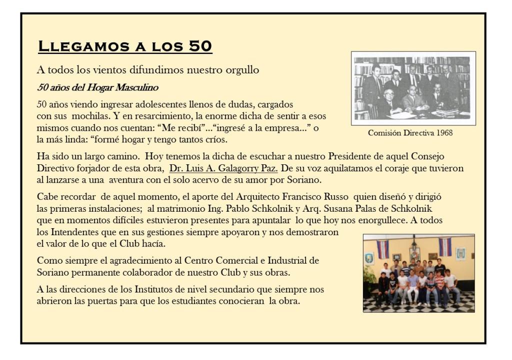 50 años del hogar pagina