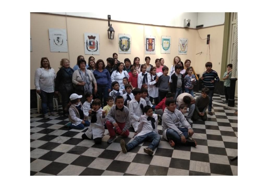 escuela de Sacachispas visita 27-9-18