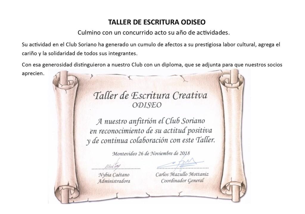 taller diploma